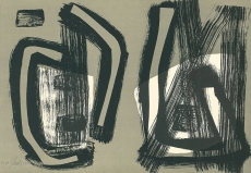 Fritz Winter: Farblithographie 6, 1955