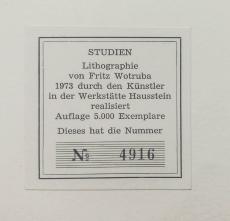 Fritz Wotruba: Studien, 1973