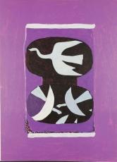 Derriere le Miroir No. 144-145-146 (Braque), 1964