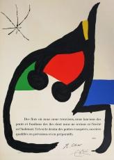 Joan Miró: Poesie de René Char, 1976