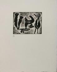 Joan Miro: Saccades VII, 1961