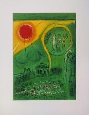 Marc Chagall: Le Carrousel du Louvre, 1954