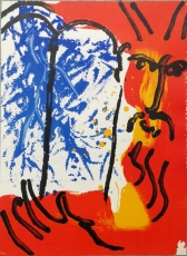 Marc Chagall: Moses, 1956