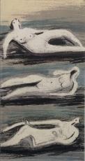 Maitres-Graveures Contemporains 1981 (Henry Moore)