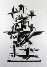 Ossip Zadkine: Le Merveilleux Radeau, 1966 (2)