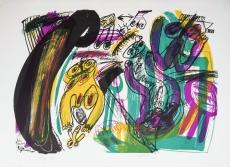 Walter Stöhrer: Ménage à troit II, 1971
