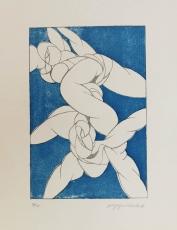 Wolff Buchholz:Artistische Aktion, 1968