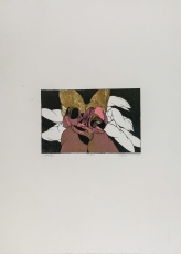 Wolff Buchholz: Zwei Figuren, 1970