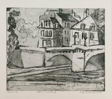 Wolff Buchholz: Paris - Pont Neuf, 1958