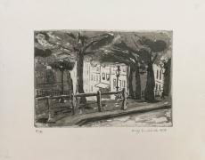 Wolff Buchholz: Place Emil Goudeaux, 1958