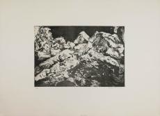 Wolff Buchholz: Zwei liegende Akte 2. Zustand), 1960
