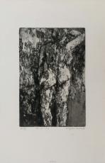 Wolff Buchholz: Nue de dos, 1960