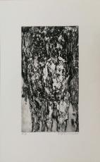 Wolff Buchholz: Zwei stehende Frauen , 1960