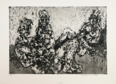 Wolff Buchholz: Figurenkomposition 1/61, 1961