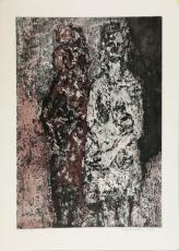 Wolff Buchholz: Figurenkomposition 2/61, 1961