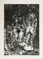 Wolff Buchholz: Figurenkomposition 3/61, 1961