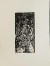 Wolff Buchholz: sitzender Akt, 1962