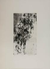 Wolff Buchholz: Zwei stehende Akte, 1962