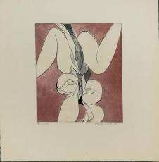 Wolff Buchholz: Vegetative Figur, 1966