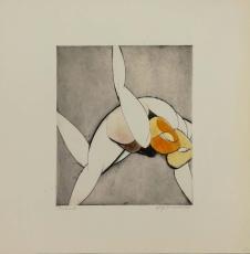 Wolff Buchholz: Gespannte Figur , 1966
