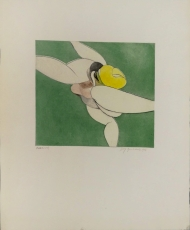 Wolff Buchholz: Athletische Figur, 1966