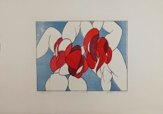 Wolff Buchholz: Figurenpaar, 1967