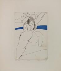 Wolff Buchholz: Figur am Meer, 1968