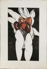 Wolff Buchholz: Floreale Gruppe, 1970