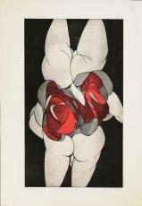 Wolff Buchholz: Doppelfigur, 1970