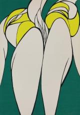 Wolff Buchholz: Sich erhebende Doppelfigur, 1967