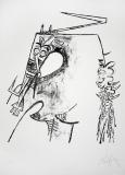 Wifredo Lam: Figure Blanche, 1975