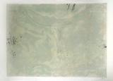 Antoni Tàpies: L. in schwarz, elfenb. u. grünlich-beige, 1962