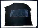 Antoni Tàpies: L. in schwarz, braun, blau, grünlichgrau u. siena