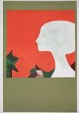 André Minaux: Les deux profils,1973