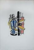 Fernand Léger: La Boutteille bleue, 1951
