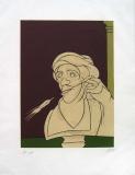 Valerio Adami: Stéle, 1982