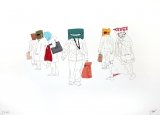 Esther Partegas: Shopping Heads 4