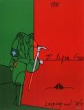 Valerio Adami: Hommage à Freud, 1980