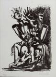 Ossip Zadkine: La forêt humaine, 1965