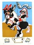 Simon Dittrich: Reiterstandbild, 1971