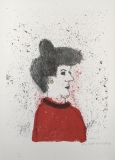Max Peiffer Watenphul: Frauenkopf im Profil, 1972