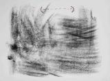 Antoni Tàpies: L. in schwarz und braun, 1965