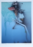 Paul Wunderlich: Tête dune femme, 1982