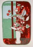 Alfredo Fabbri: Vaso da fiori , 1973