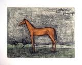 Bernard Buffet: A Robert (Pferd), 1951