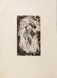 Emil Schumacher: Etching in black, 1959