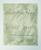 Günther Förg: Erker-Suite 2000 - Titel