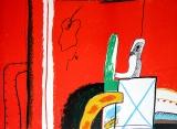 Horst Antes: Geh durch den Spiegel IV, 1963