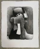 Horst Antes: Kleine gefleckte Figur, 1970