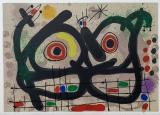 Joan Miró: Le Lézard aux plumes dor,1967
